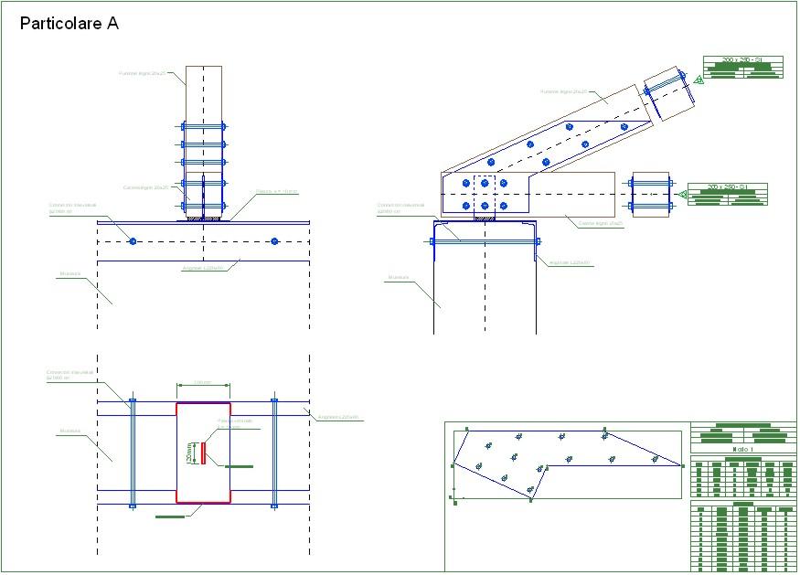for Particolari costruttivi capriata in legno